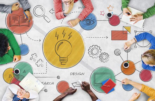 pessoas com ideias inovadoras